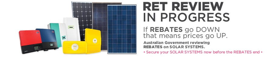 Rebates on Solar Systems