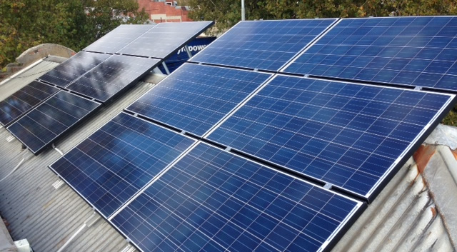 Residential Solar Panel Systems In Melbourne Green